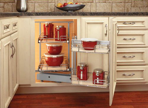 Best ideas about Blind Corner Cabinet . Save or Pin How to Make Blind Corner Cabinet Space More Useful Now.