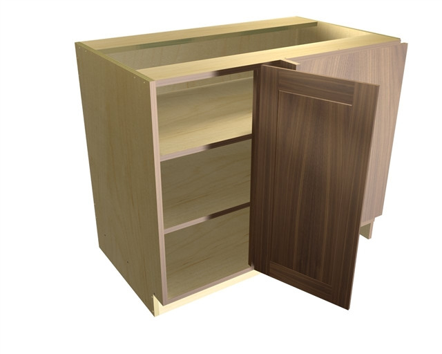 Best ideas about Blind Corner Cabinet . Save or Pin 1 door blind corner base cabinet hinged right Now.