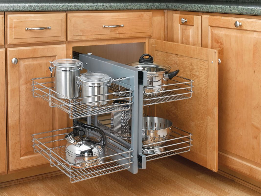Best ideas about Blind Corner Cabinet . Save or Pin Rev A Shelf 5PSP 15 CR Chrome 5PSP Series Chrome Blind Now.