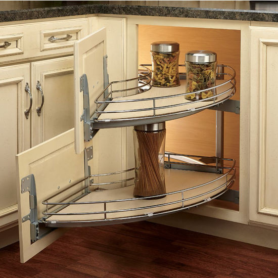 "Best ideas about Blind Corner Cabinet . Save or Pin Rev A Shelf The Curve"" Luxury Kitchen Blind Corner Unit Now."
