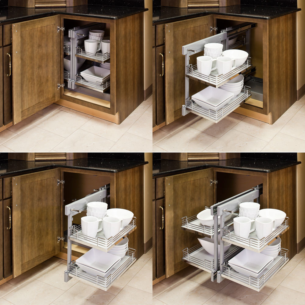 Best ideas about Blind Corner Cabinet . Save or Pin Metal Pull Out Unit For Left or Right Hand Blind Corner Now.