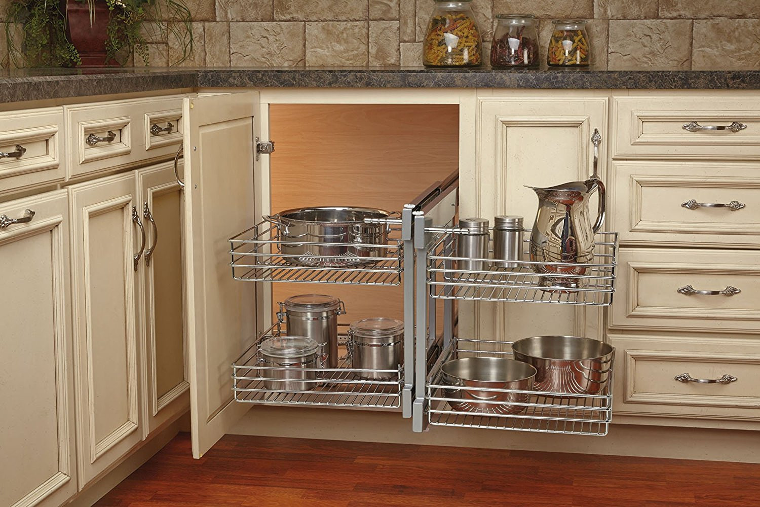 Best ideas about Blind Corner Cabinet . Save or Pin Pantry Design Details Now.