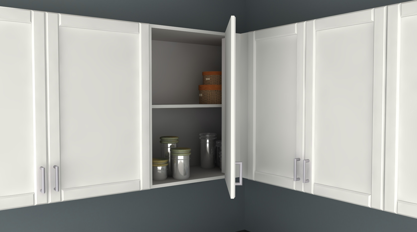 Best ideas about Blind Corner Cabinet . Save or Pin IKEA Kitchen Hack A Blind Corner Wall Cabinet Perfect for Now.