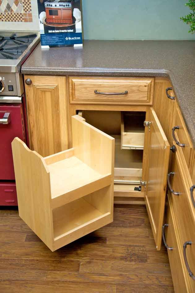 "Best ideas about Blind Corner Cabinet . Save or Pin The ""blind corner"" cabinet above makes better use of Now."