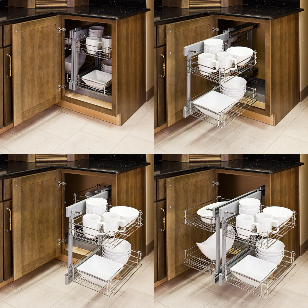 Best ideas about Blind Corner Cabinet . Save or Pin Blind Corner Pullout Solution CS SHM All Cabinet Parts Now.
