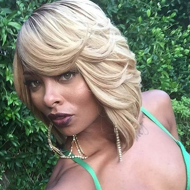 Best ideas about Blonde Bob Black Hairstyles . Save or Pin 47 Hot Long Bob Haircuts and Hair Color Ideas Now.