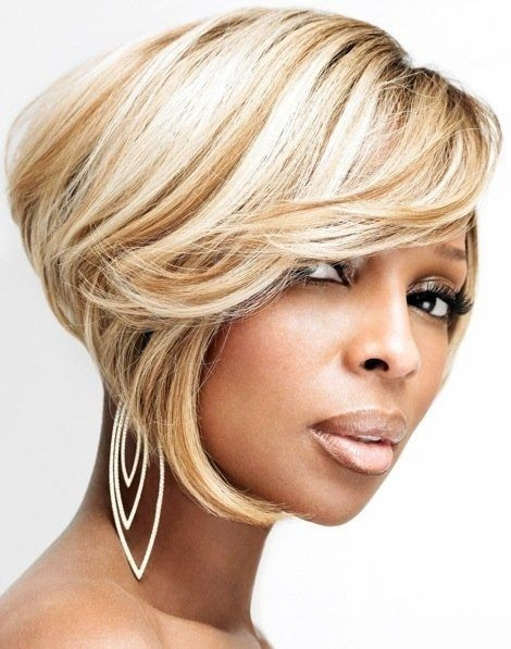 Best ideas about Blonde Bob Black Hairstyles . Save or Pin 15 Chic Short Bob Hairstyles Black Women Haircut Designs Now.