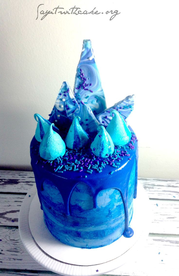Best ideas about Blue Birthday Cake . Save or Pin 25 Best Ideas about Blue Birthday Cakes on Pinterest Now.