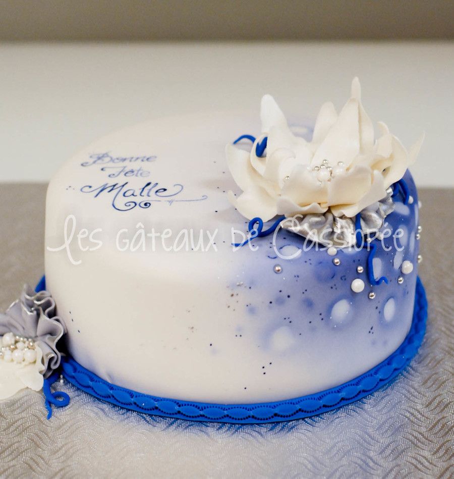 Best ideas about Blue Birthday Cake . Save or Pin Blue Birthday Cake CakeCentral Now.