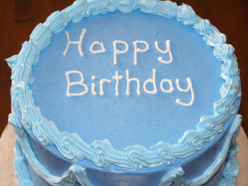 Best ideas about Blue Birthday Cake . Save or Pin A driving lesson learnt and the birthday cake Now.