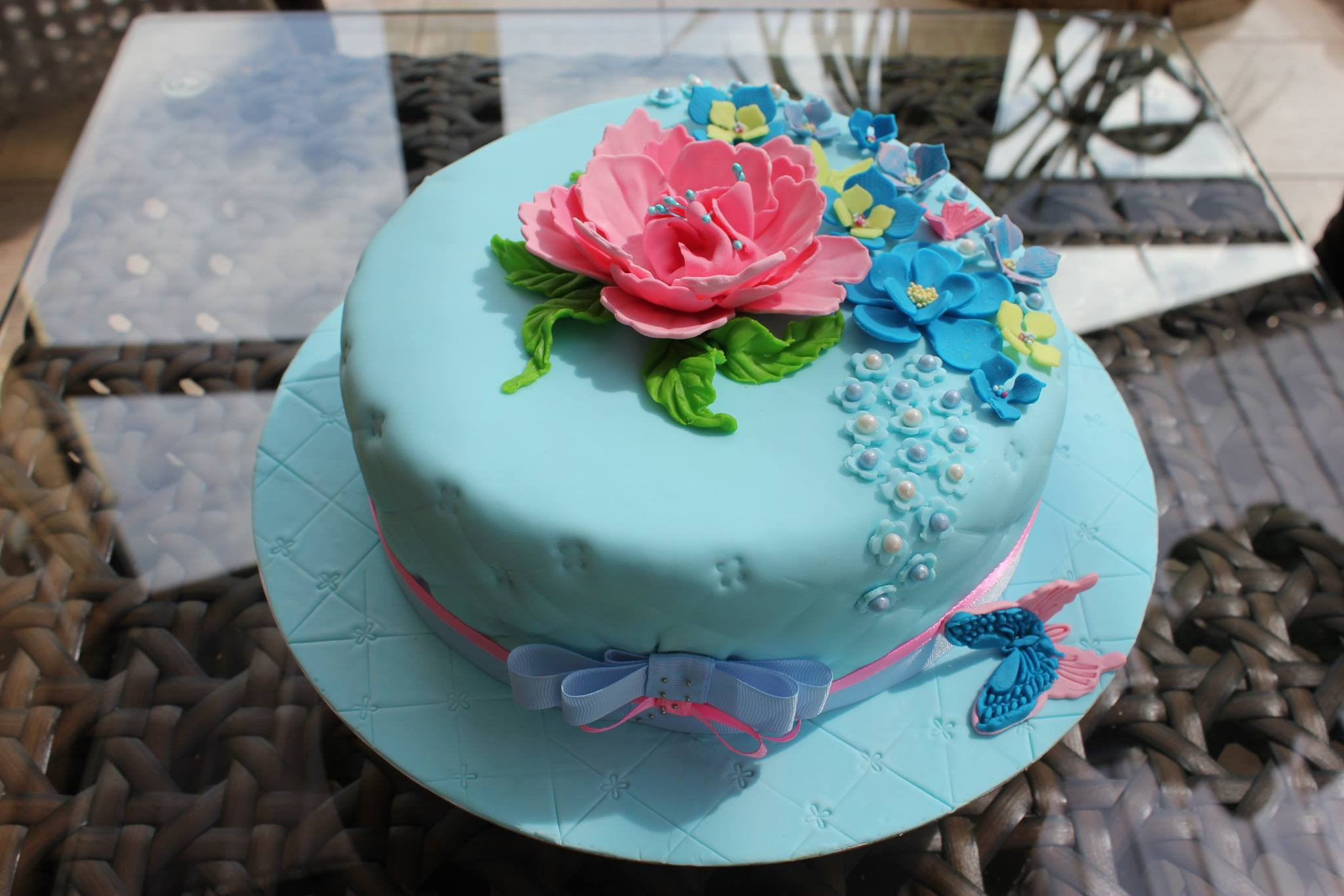 Best ideas about Blue Birthday Cake . Save or Pin Blue Birthday Cake Now.