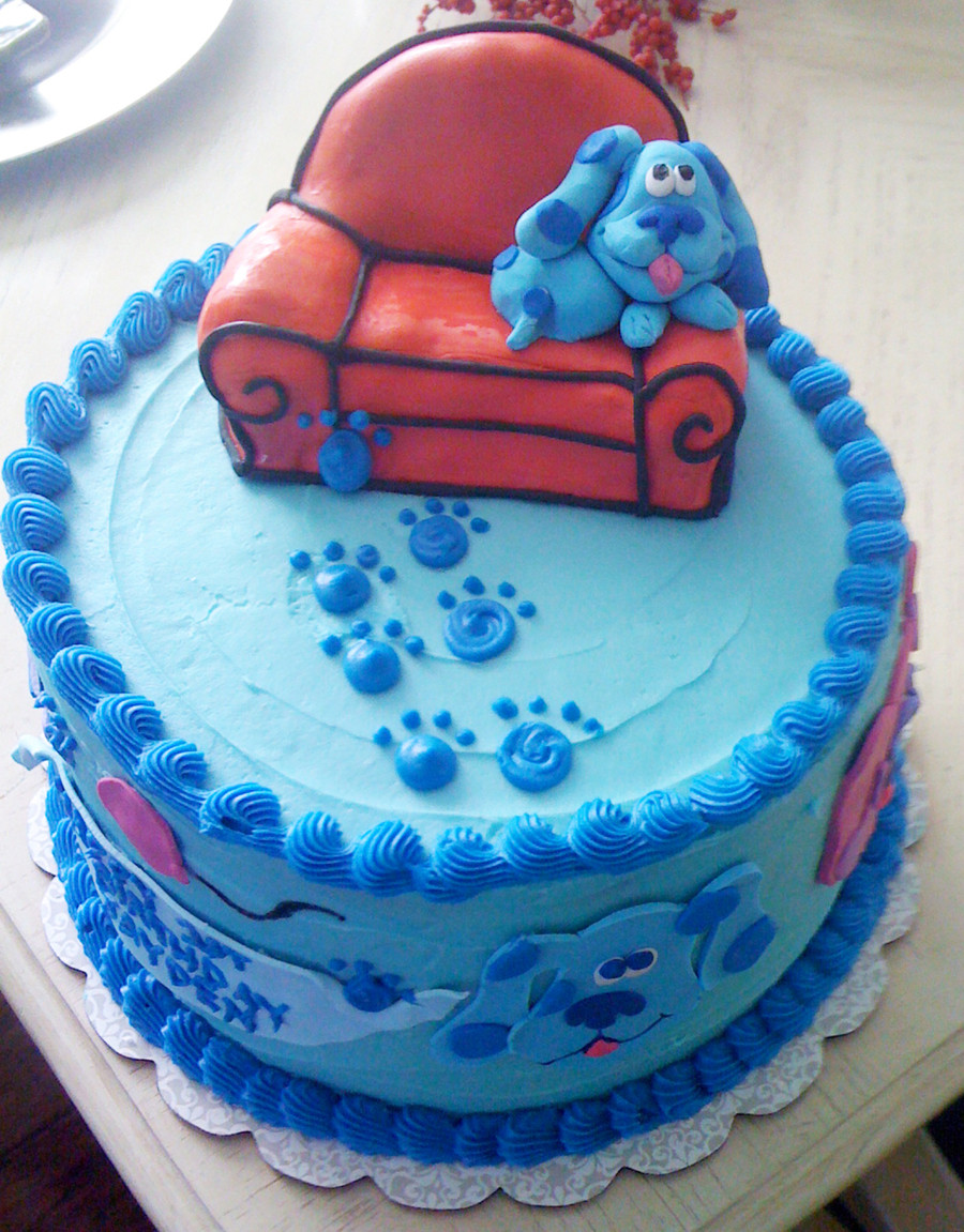 Best ideas about Blue Birthday Cake . Save or Pin Blue s Clues Birthday Cake CakeCentral Now.