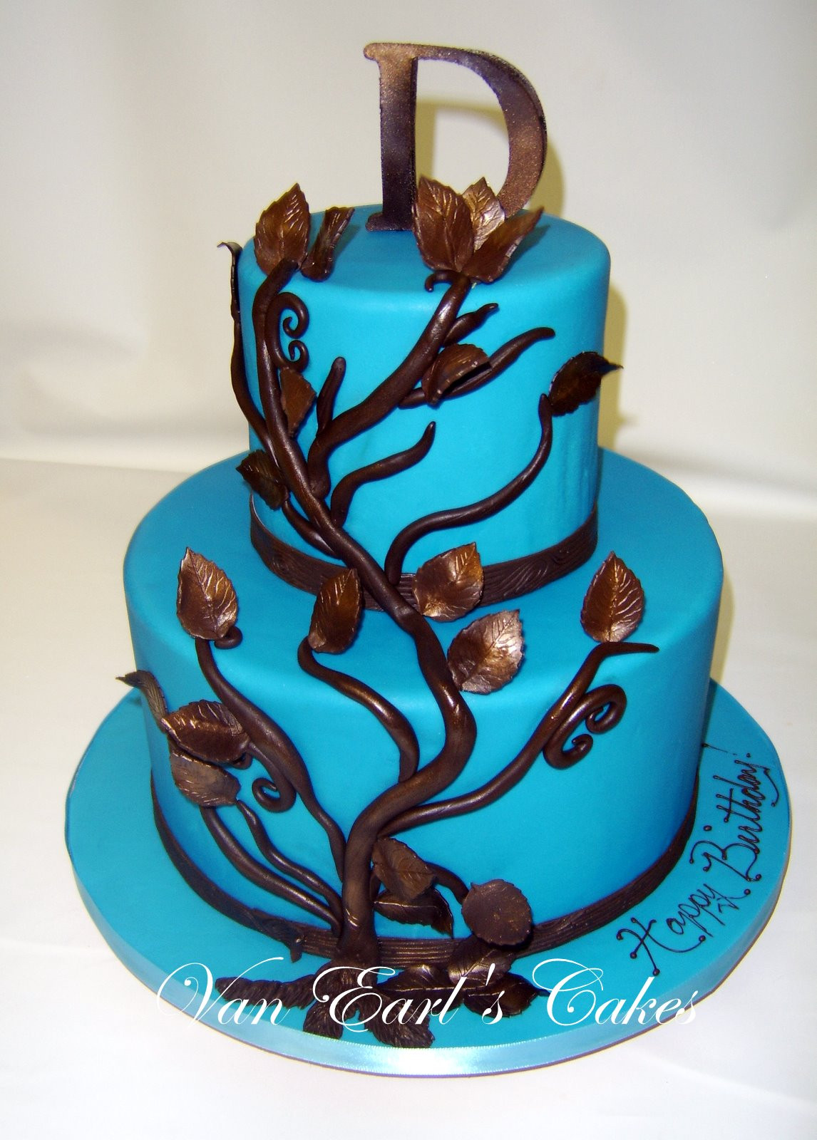 Best ideas about Blue Birthday Cake . Save or Pin Van Earl s Cakes Surprise Blue Birthday Cake Now.