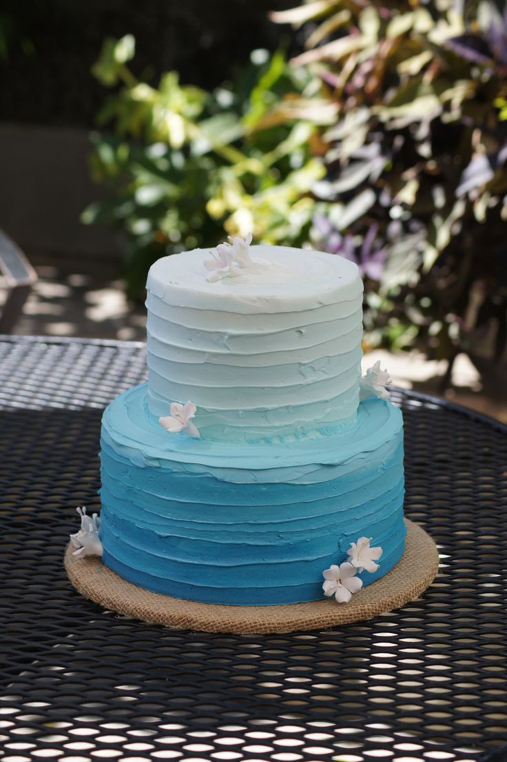 Best ideas about Blue Birthday Cake . Save or Pin Best 25 21 birthday cakes ideas on Pinterest Now.
