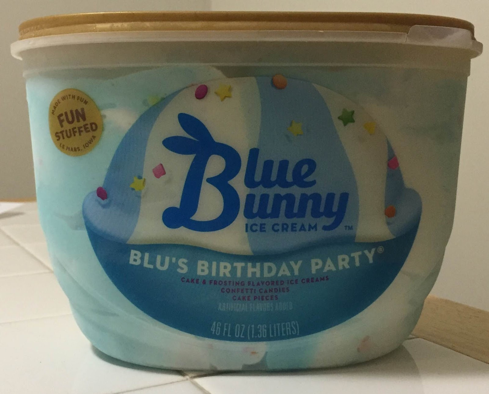 Best ideas about Blue Bunny Birthday Cake Ice Cream . Save or Pin Blue Bunny Blu s Birthday Party Now.