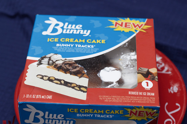 Best ideas about Blue Bunny Birthday Cake Ice Cream . Save or Pin Bunny Tracks Ice Cream Cake For Any Occasion Close To Home Now.