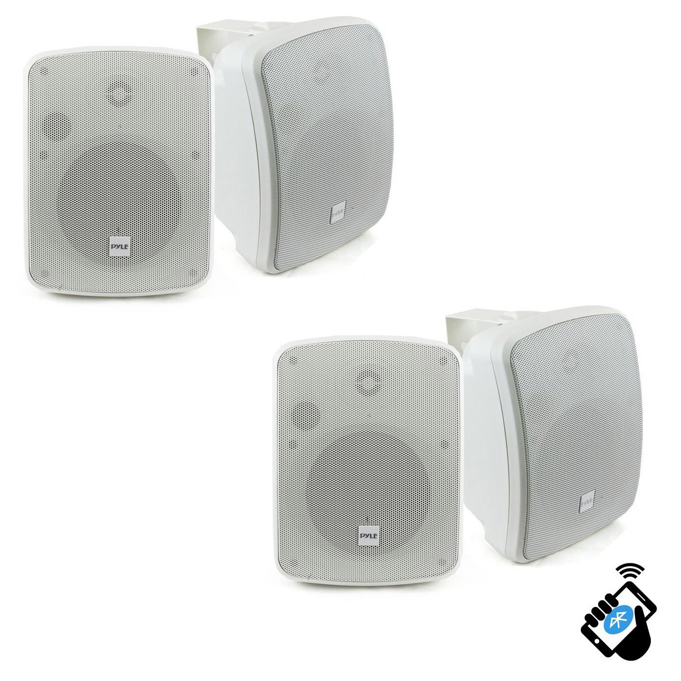 "Best ideas about Bluetooth Outdoor Speakers . Save or Pin Pyle Bluetooth 600W Waterproof 5 25"" Powered Outdoor Now."