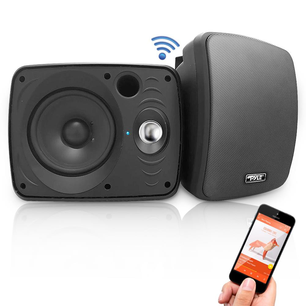 Best ideas about Bluetooth Outdoor Speakers . Save or Pin PyleHome PDWR64BTB Marine and Waterproof Now.