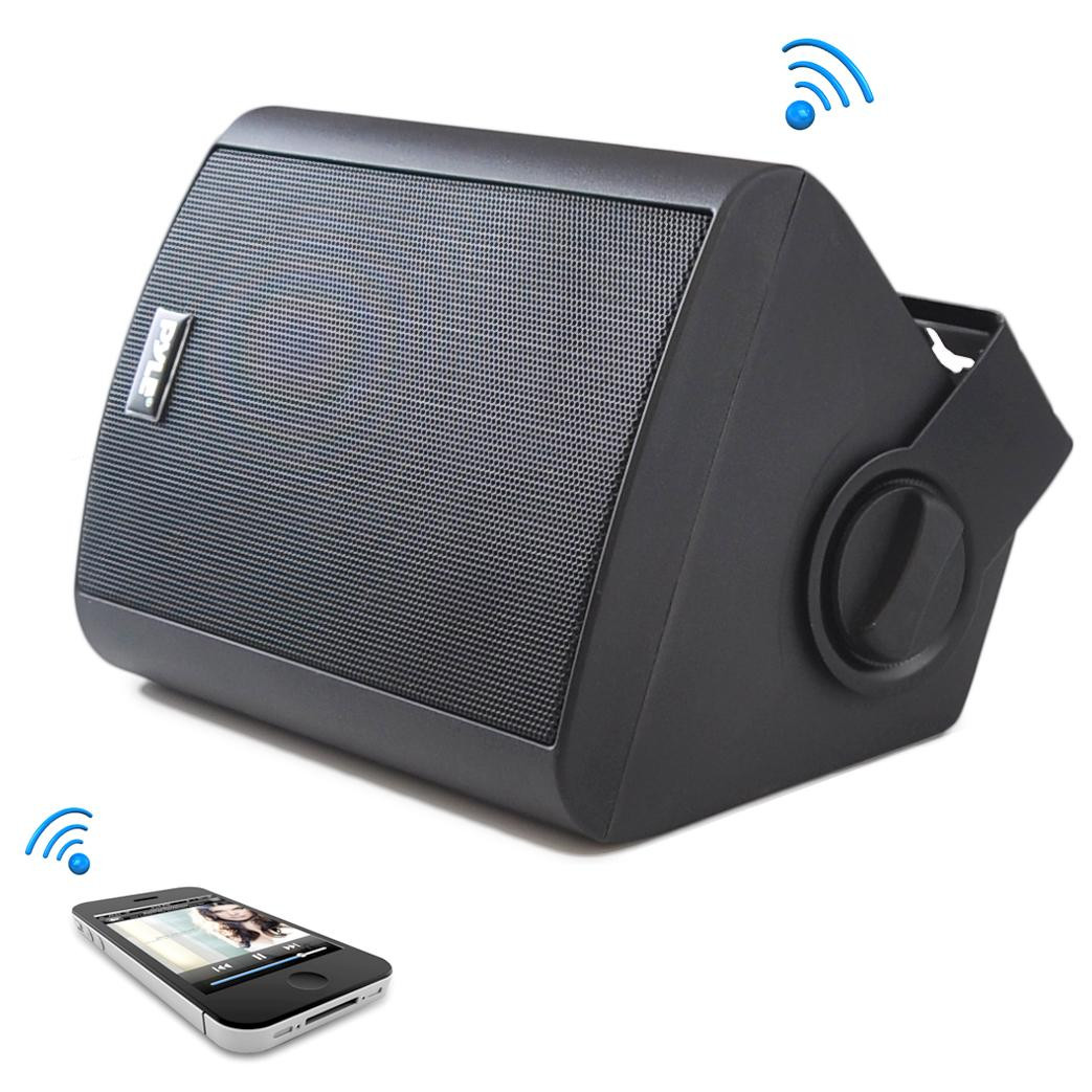 Best ideas about Bluetooth Outdoor Speakers . Save or Pin Amazon Pyle PDWR52BTBK Wall Mount Waterproof Now.