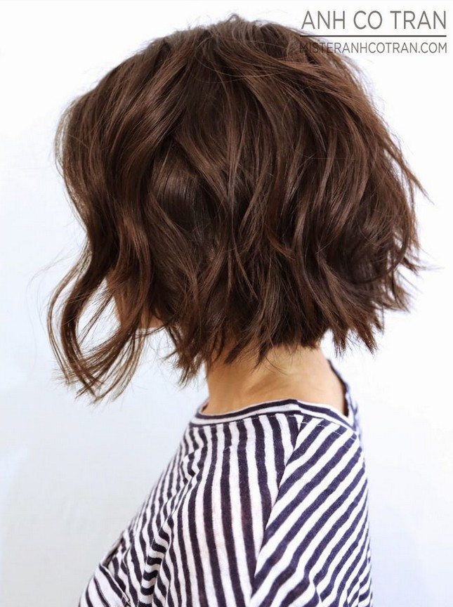 Best ideas about Bob Haircuts For Wavy Hair . Save or Pin 25 Delightful Wavy Curly Bob Hairstyles for Women Now.