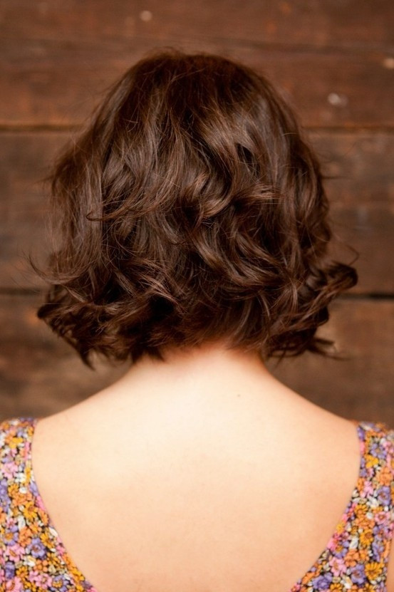 Best ideas about Bob Haircuts For Wavy Hair . Save or Pin 10 Stylish Wavy Bob Hairstyles for Medium Short Hair Now.