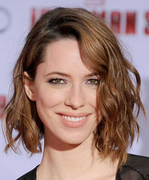 Best ideas about Bob Haircuts For Wavy Hair . Save or Pin 25 Best Wavy Bob Hairstyles Now.