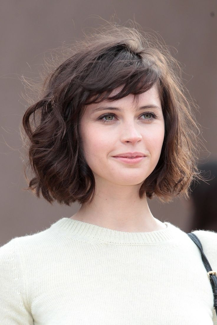 Best ideas about Bob Haircuts For Wavy Hair . Save or Pin 20 Feminine Short Haircuts for Wavy Hair Now.