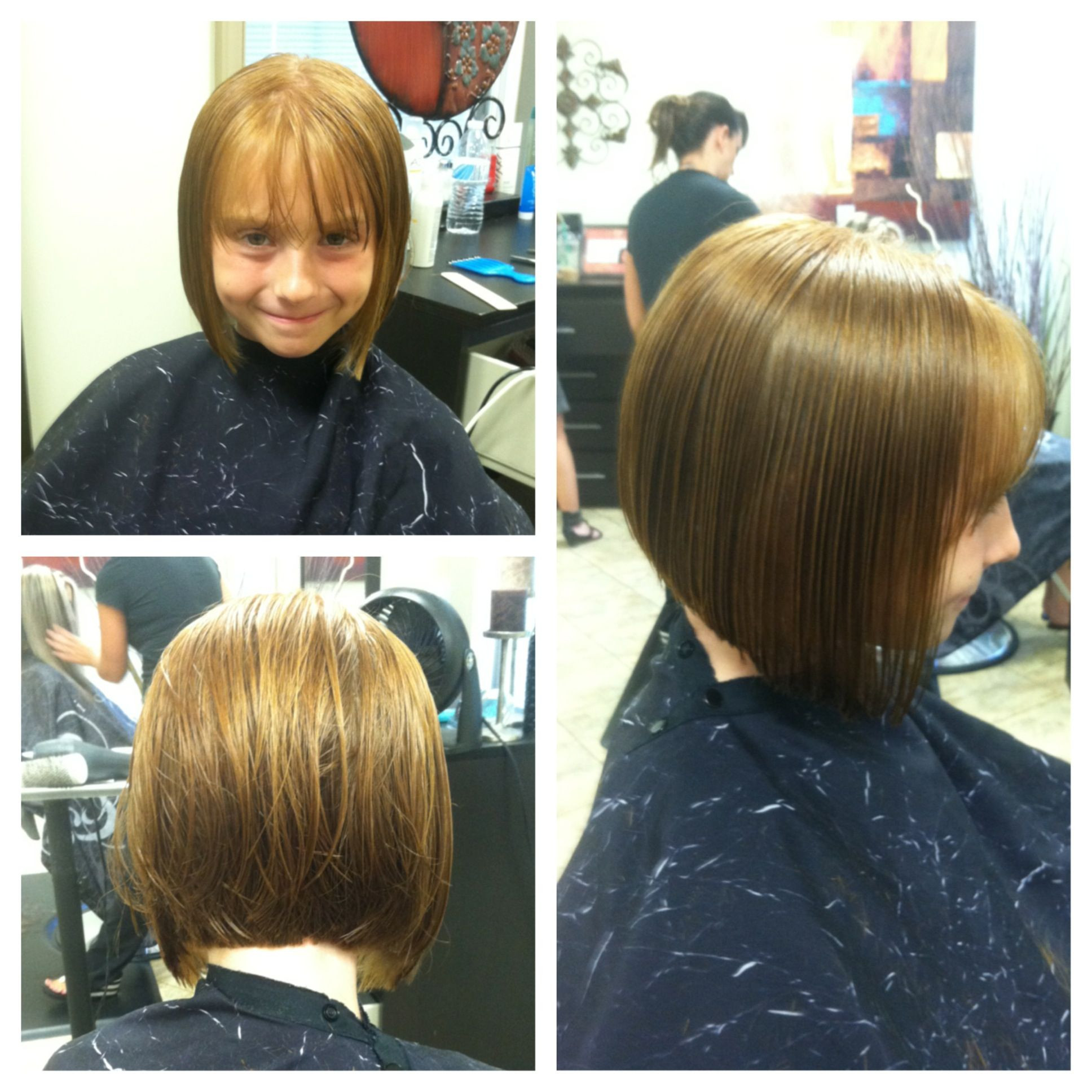 Best ideas about Bob Hairstyles For Kids . Save or Pin Kids Summer Haircut cute bob Short hair don t care My Now.