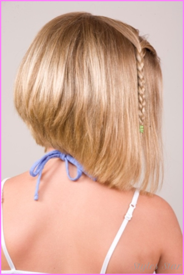 Best ideas about Bob Hairstyles For Kids . Save or Pin Kids short haircuts with bangs StylesStar Now.