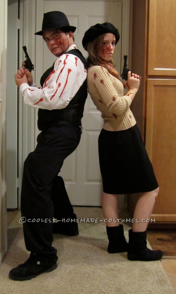 Best ideas about Bonnie And Clyde Costume DIY . Save or Pin Coolest Zombie Bonnie and Clyde Couple Costume Now.