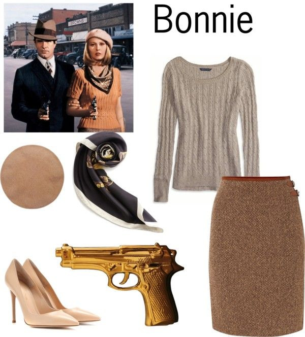 Best ideas about Bonnie And Clyde Costume DIY . Save or Pin Simple DIY Halloween Costumes Bonnie and Clyde Now.