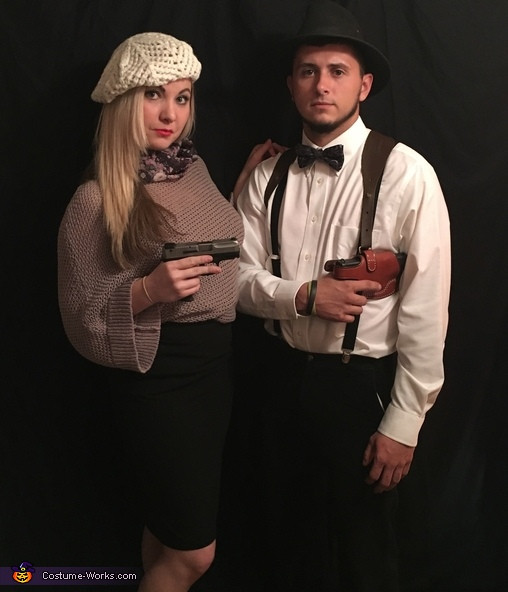 Best ideas about Bonnie And Clyde Costume DIY . Save or Pin Bonnie and Clyde Couple Costume Now.