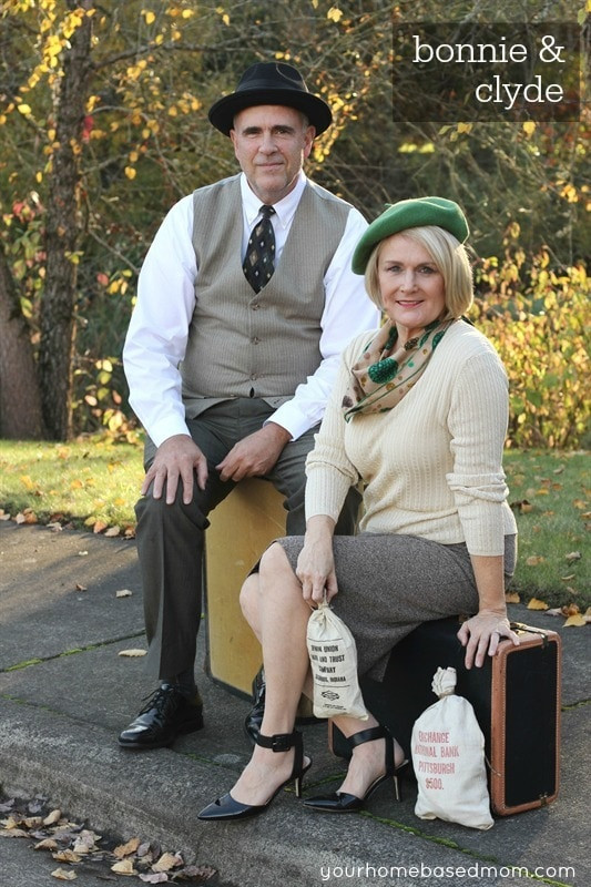Best ideas about Bonnie And Clyde Costume DIY . Save or Pin 11 Cheap Couples Halloween Costumes Now.