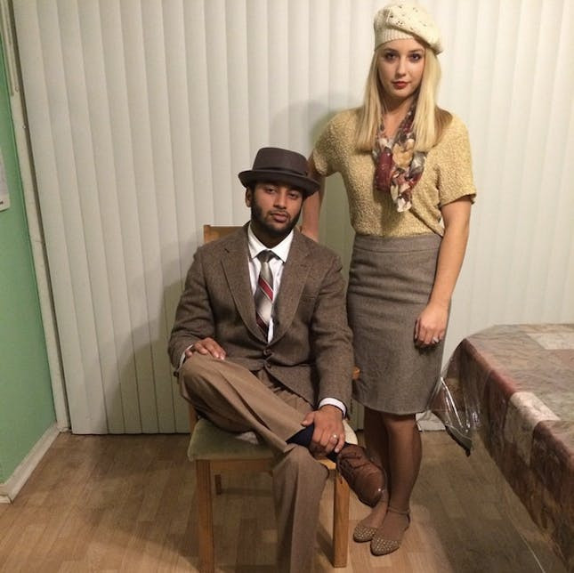 Best ideas about Bonnie And Clyde Costume DIY . Save or Pin 15 Groovy '60s Halloween Costumes to DIY Now.