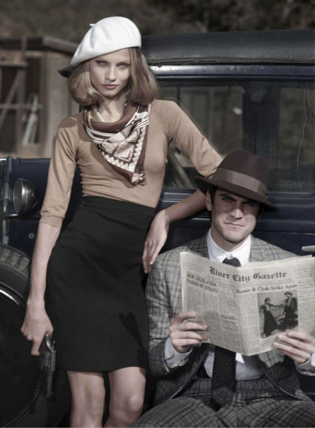 Best ideas about Bonnie And Clyde Costume DIY . Save or Pin Bonnie and Clyde … Now.