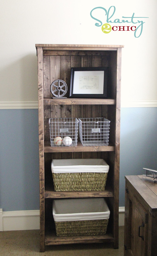 Best ideas about Bookshelves DIY Plans . Save or Pin DIY Kentwood Bookcase Shanty 2 Chic Now.