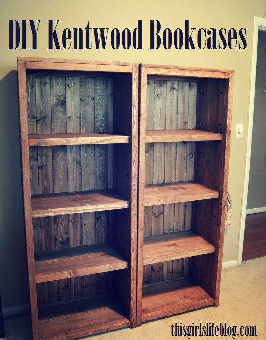 Best ideas about Bookshelves DIY Plans . Save or Pin Woodwork Homemade Bookcase Plans PDF Plans Now.