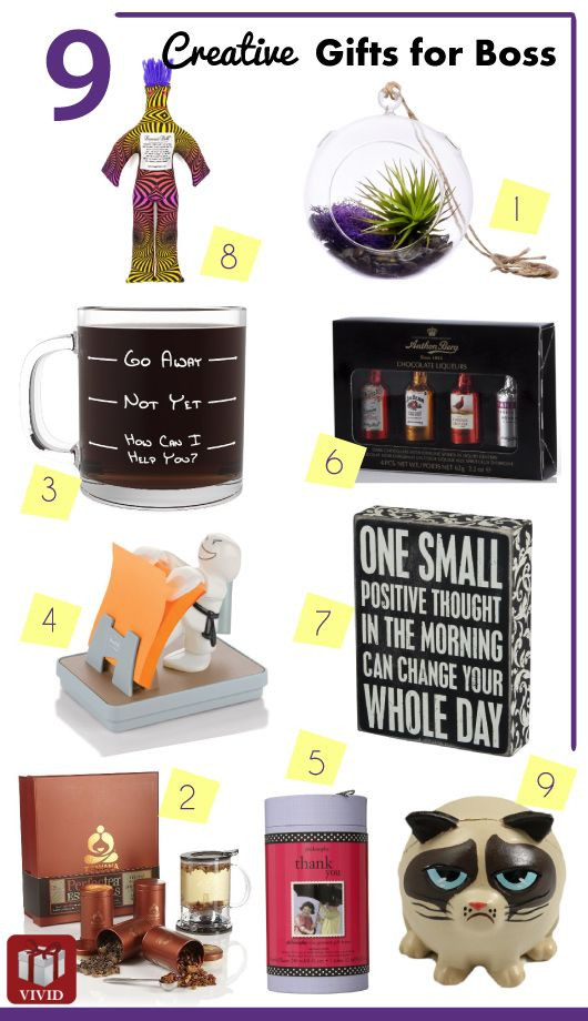 Best ideas about Boss Gift Ideas . Save or Pin List of 9 Good Gift Ideas for Boss Now.