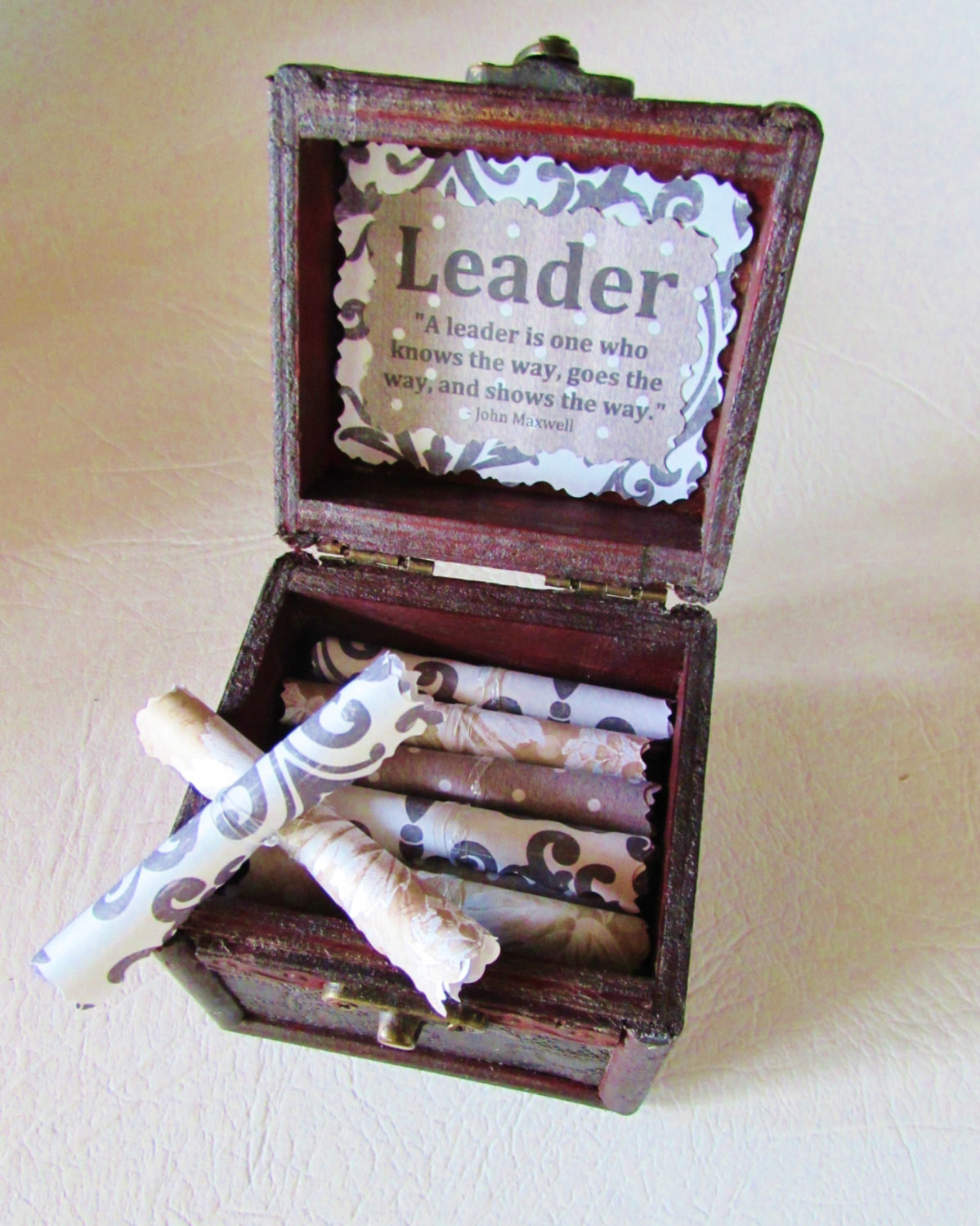 Best ideas about Boss Gift Ideas . Save or Pin Boss Birthday Gift Idea Boss Gift Wood Chest with Now.
