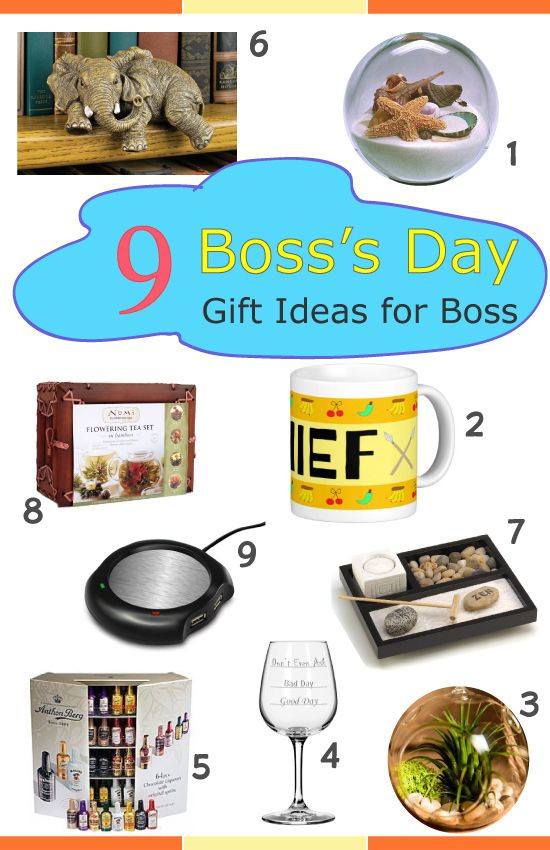 Best ideas about Boss Gift Ideas . Save or Pin Boss Day 9 Gift Ideas for Your Boss Now.