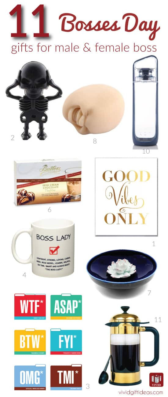 Best ideas about Bosses Day Gift Ideas . Save or Pin 11 Fun Gift Ideas to Celebrate Bosses Day Vivid s Gift Ideas Now.