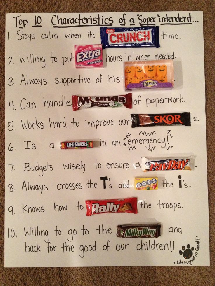 Best ideas about Bosses Day Gift Ideas For Her . Save or Pin Best 20 Candy poems ideas on Pinterest Now.