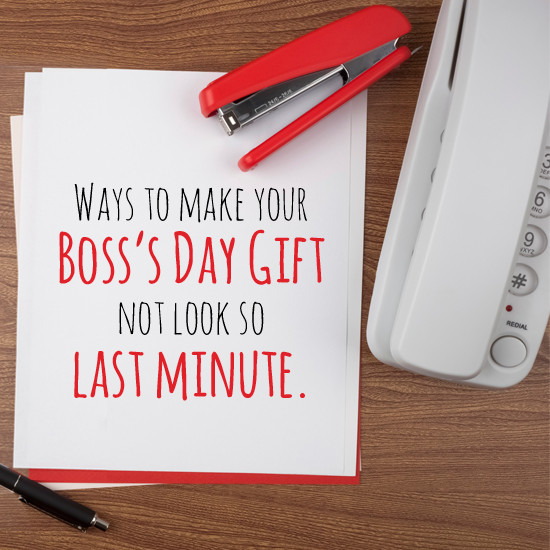 Best ideas about Bosses Day Gift Ideas For Her . Save or Pin Last Minute Boss s day Gift American Greetings Blog Now.