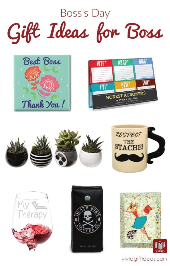 Best ideas about Bosses Day Gift Ideas . Save or Pin Boss's Day 10 Gifts to Impress Your Boss Vivid s Now.