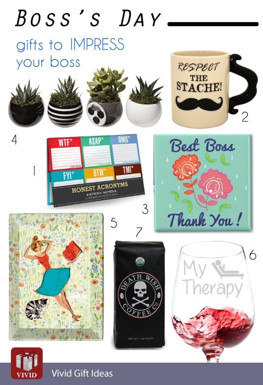 Best ideas about Bosses Day Gift Ideas . Save or Pin Boss's Day 10 Gifts to Impress Your Boss Now.