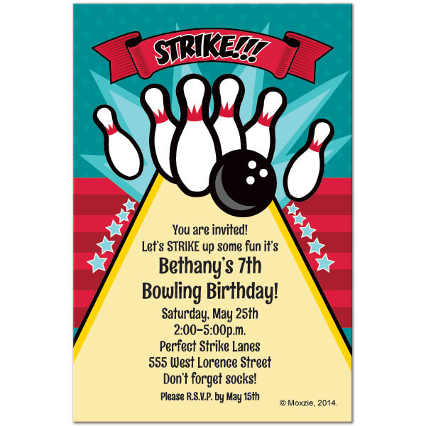 Best ideas about Bowling Birthday Invitations . Save or Pin Free Printable Bowling Birthday Invitations Now.
