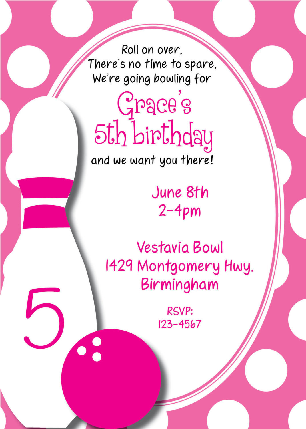 Best ideas about Bowling Birthday Invitations . Save or Pin Bowling Birthday Invitation Now.