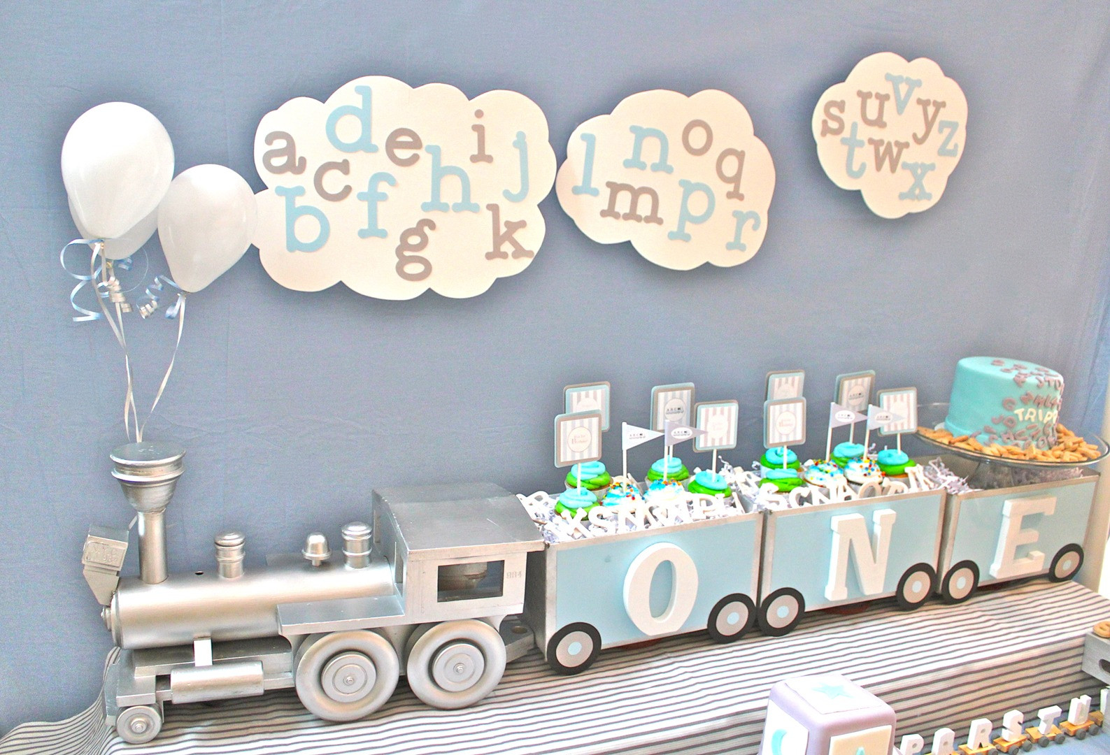 Best ideas about Boy First Birthday Decorations . Save or Pin Cute Boy 1st Birthday Party Themes Now.