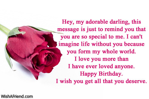 Best ideas about Boy Friend Birthday Wishes . Save or Pin Birthday Wishes For Boyfriend Now.