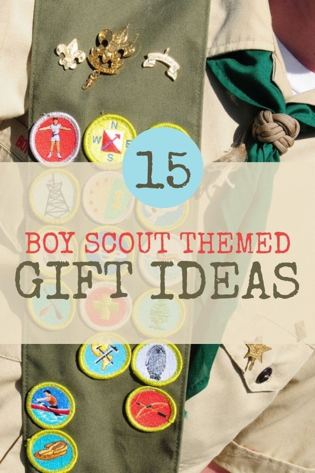Best ideas about Boy Scout Gift Ideas . Save or Pin 15 Great Boy Scout Themed Gift Ideas Now.